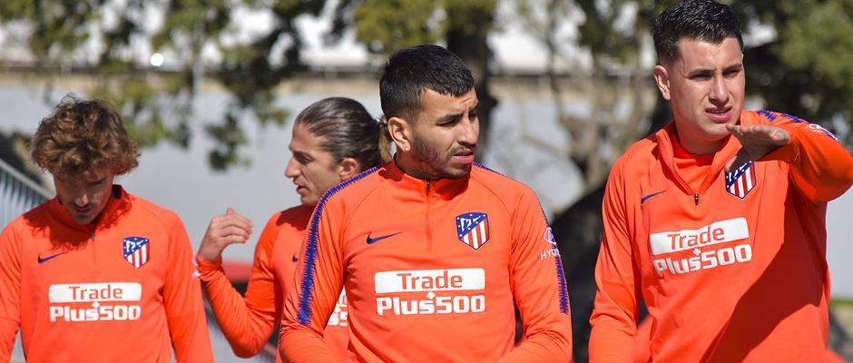 Temporada 18/19 | Entrenamiento | Correa y Giménez