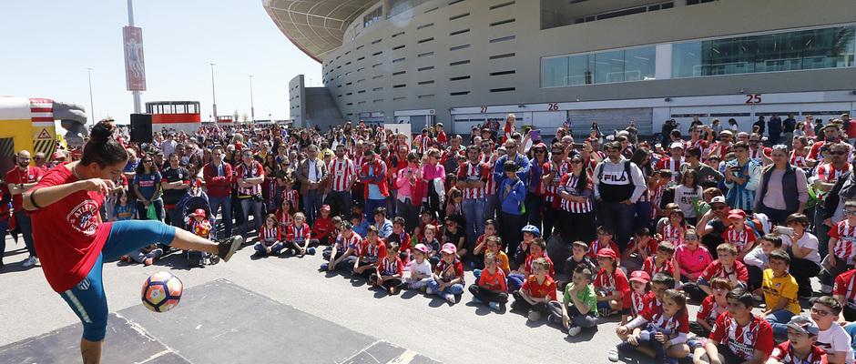 Temporada 18/19 | Atlético de Madrid - Celta | Día del Niño | Fan zone | Freestyler