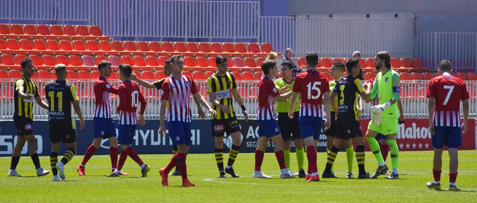 Temporada 18/19 | Atlético de Madrid B - Rápido de Bouzas | Final
