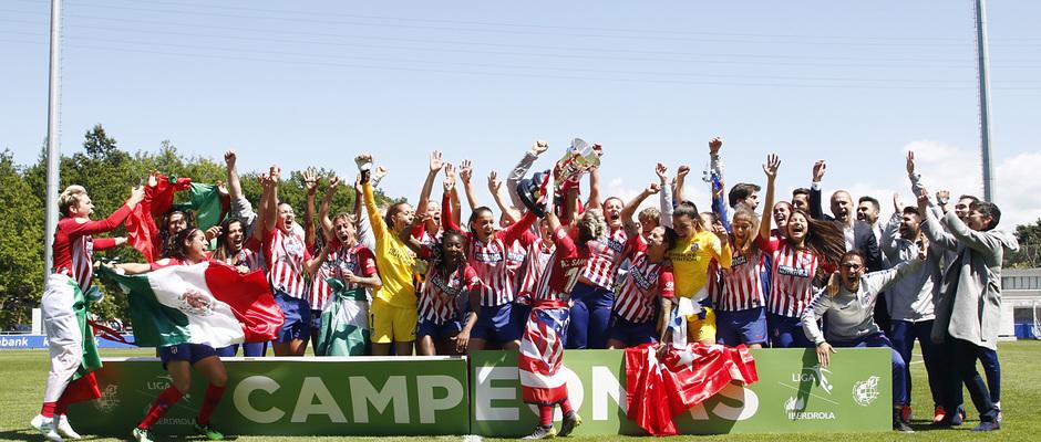 Temporada 18/19 | Real Sociedad - Atlético de Madrid Femenino | Campeonas