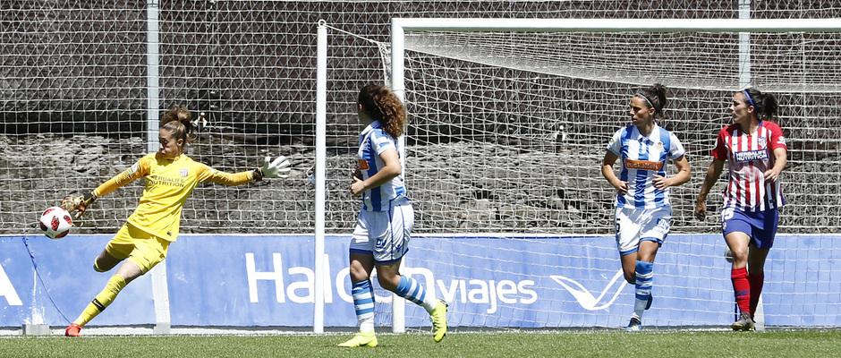 Temporada 18/19 | Real Sociedad - Atlético de Madrid Femenino | Lola Gallardo
