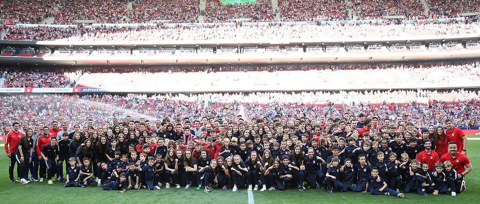 Temp. 2018-19 | Atlético de Madrid - Sevilla | Campeones Academia