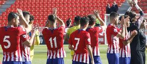 Temporada 18/19 | Atlético B - Las Palmas B | Aplausos