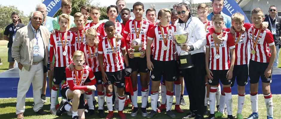 Wanda Football Cup 18/19 | Entrega de premios | PSV (2º posición)