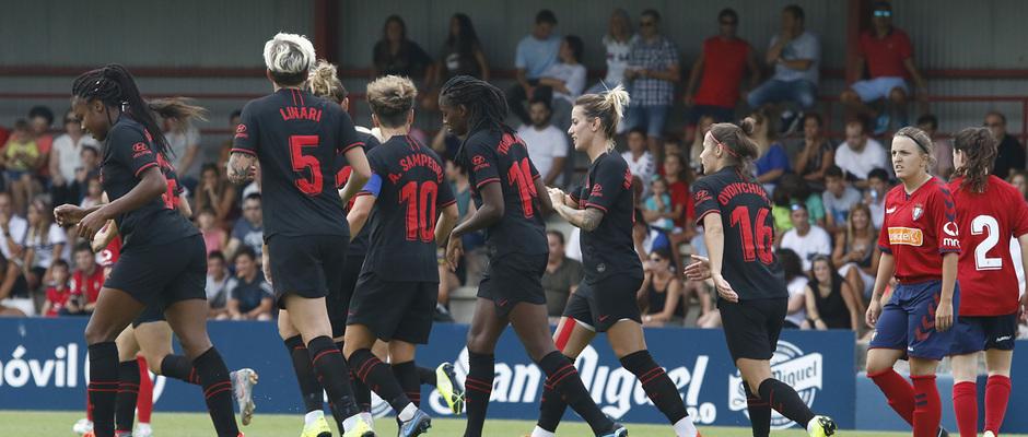 Temp. 19-20 | Osasuna - Atlético de Madrid Femenino | Celebración