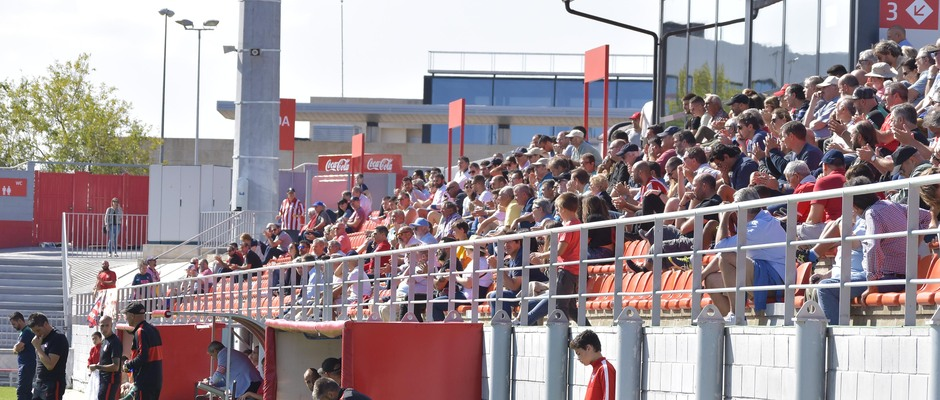 Temporada 19/20   Atlético de MAfiadrid B - Coruxo   Afición