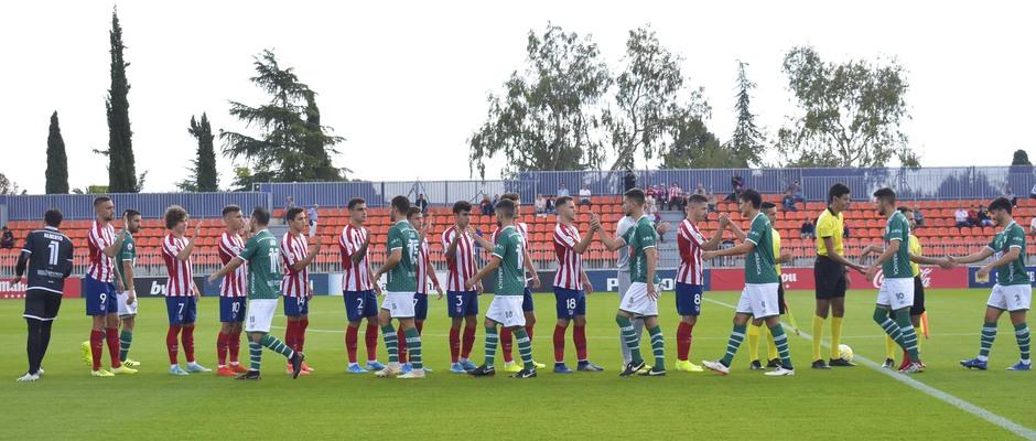 Temporada 19/20   Atlético de Madrid B - Coruxo   Equipos