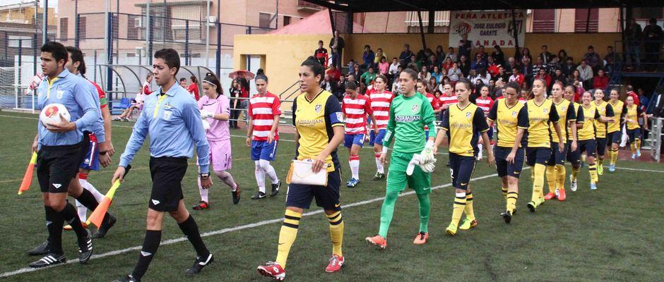 Temporada 2013-2014. Atlético de Madrid Féminas-Granada C.F.