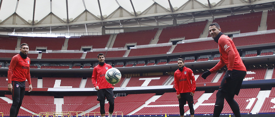Temporada 19/20 | Entrenamiento en el Wanda Metropolitano