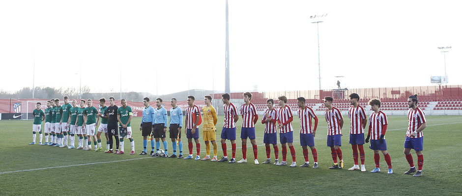 Temporada 19/20. Youth League. Atlético de Madrid Juvenil A - Lokomotiv.