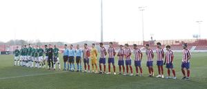 Temporada 19/20. Youth League. Atlético de Madrid Juvenil A - Lokomotiv.