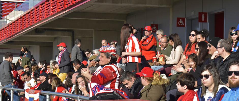 Temporada 19/20 | Atlético de Madrid Femenino - Sporting de Huelva. Afición