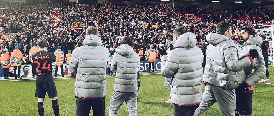 Temporada 19/20 | Liverpool - Atlético de Madrid | La otra mirada | Afición