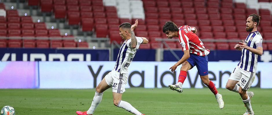 Temp 19/20   Atlético de Madrid - Valladolid   Joao Félix