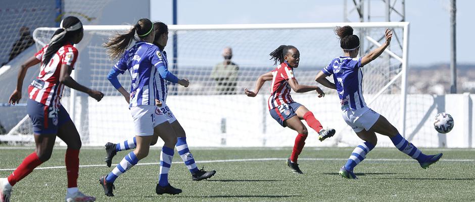 Temp. 20-21   Sporting de Huelva-Atleti   Emelyne