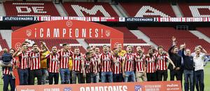 Temp. 20-21 | Celebración título LaLiga Wanda Metropolitano | Atlético de Madrid | Campeones |