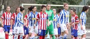 Temporada 2013-2014. Lola Gallardo subió a rematar la última acción del partido