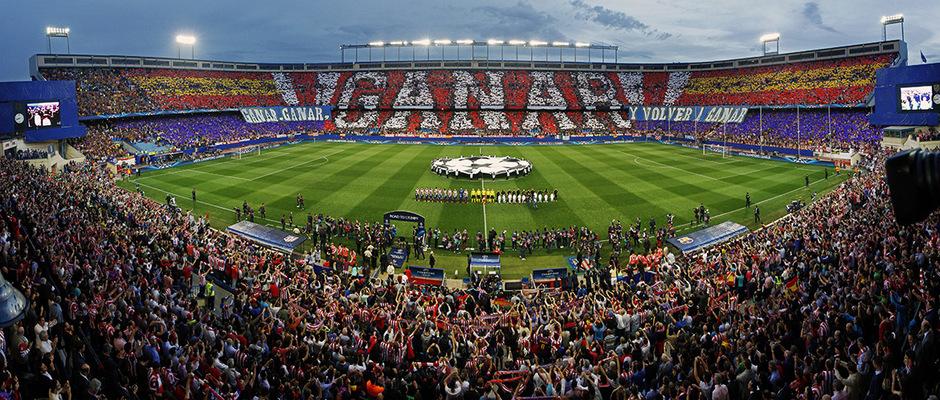 Temporada 13/14. Atlético de Madrid - F.C. Barcelona. Vuelta 1/4 Champions.