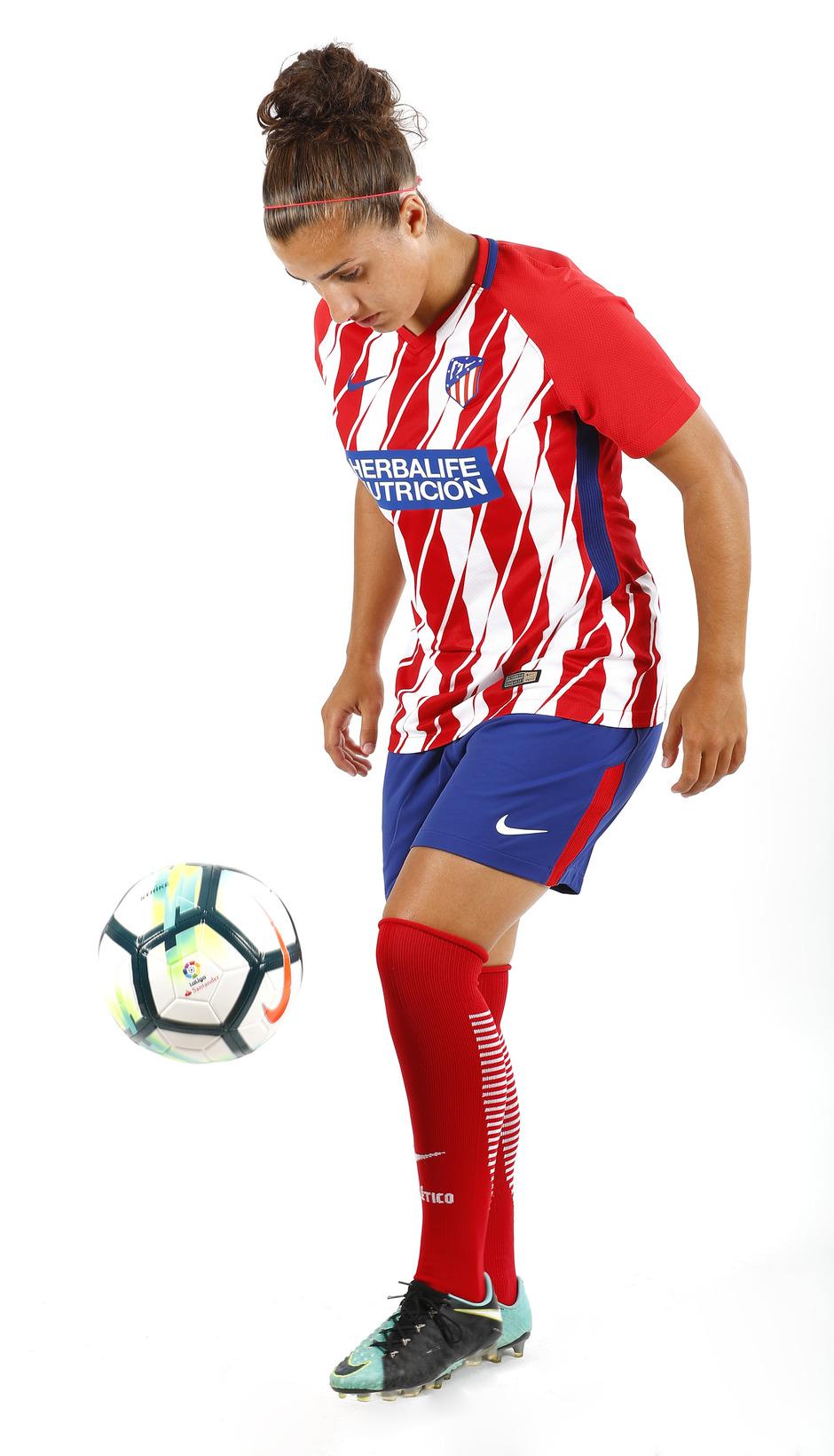 Temp. 17-18 | Sesión de fotos Atlético de Madrid Femenino. Carla