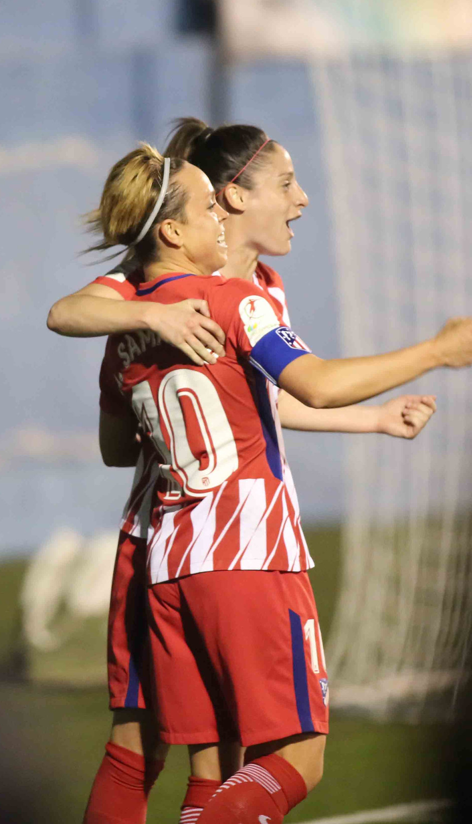 Temp. 17/18 | Atlético de Madrid Femenino | 24-03-18 | Jornada 24 | Esther y Amanda