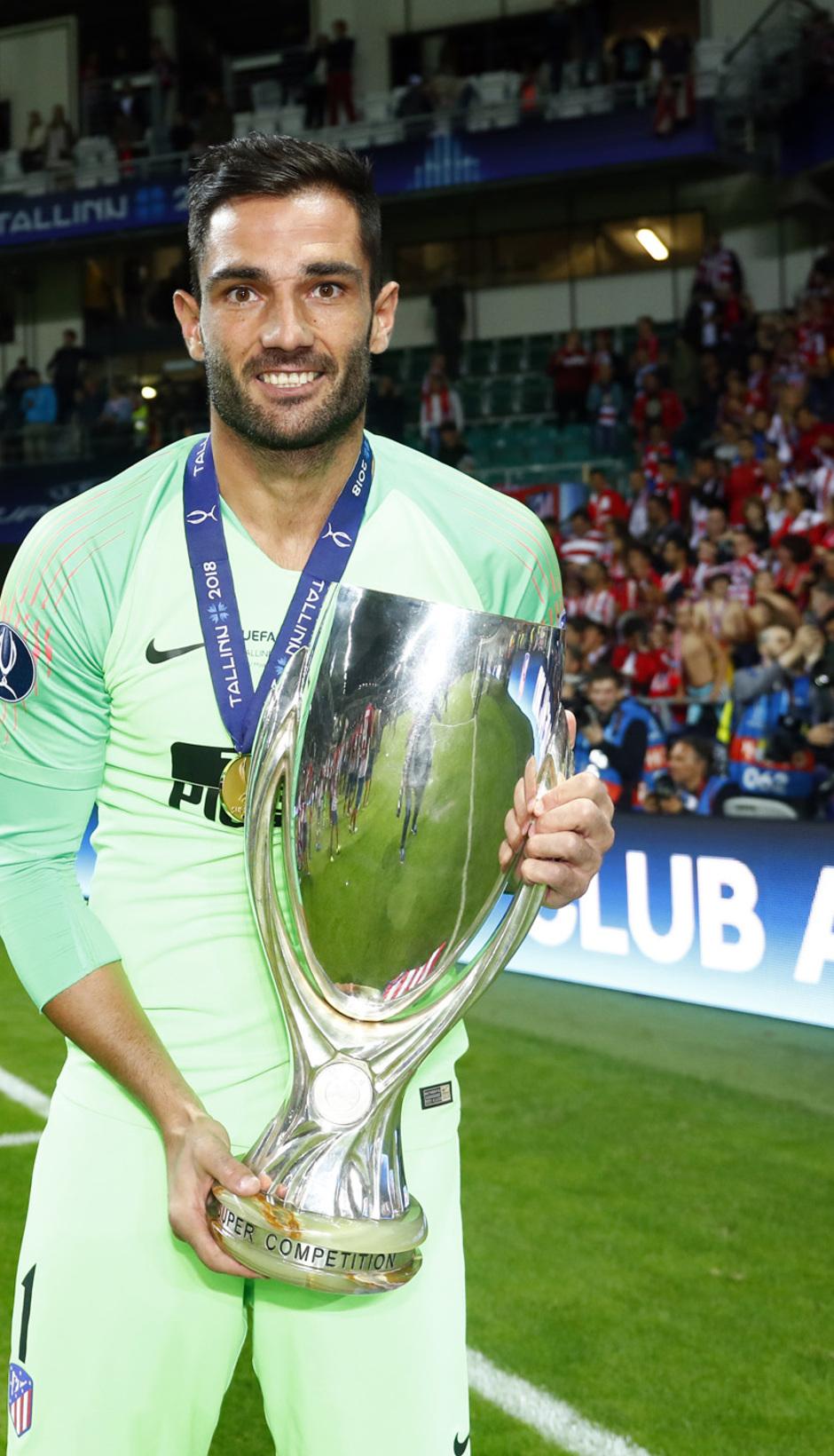 Temporada 2018-2019. Campeones Supercopa | Adán