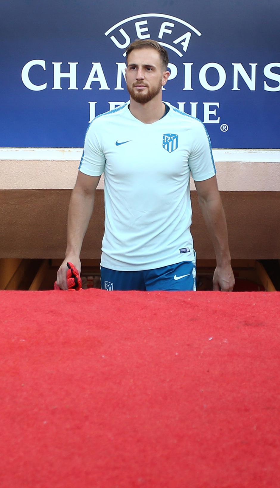 Temp. 18-19   Entrenamiento oficial Champions League en Mónaco   UCL   Oblak