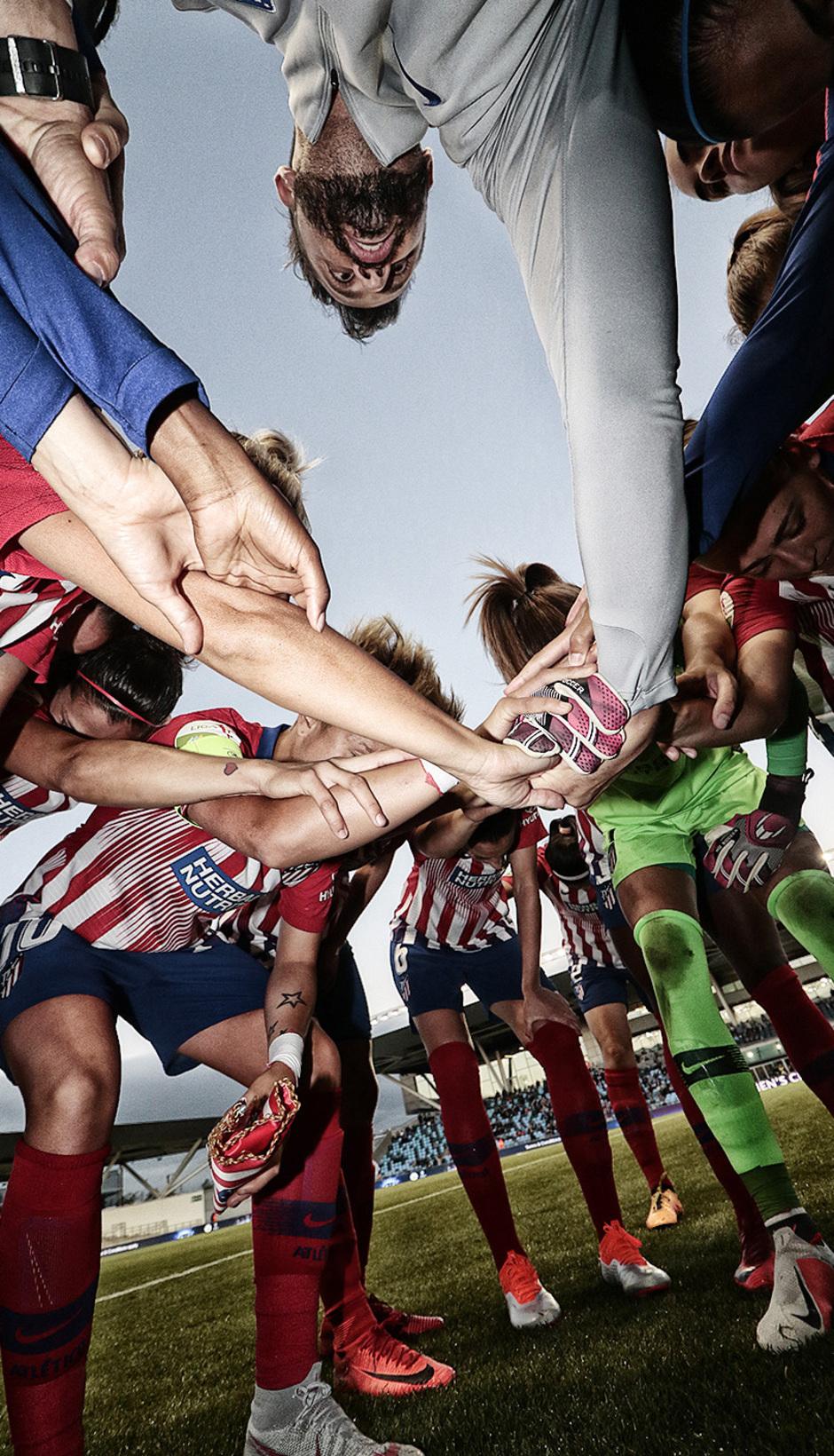 Temporada 18/19 | La otra mirada Manchester City - Atlético de Madrid Femenino | Piña