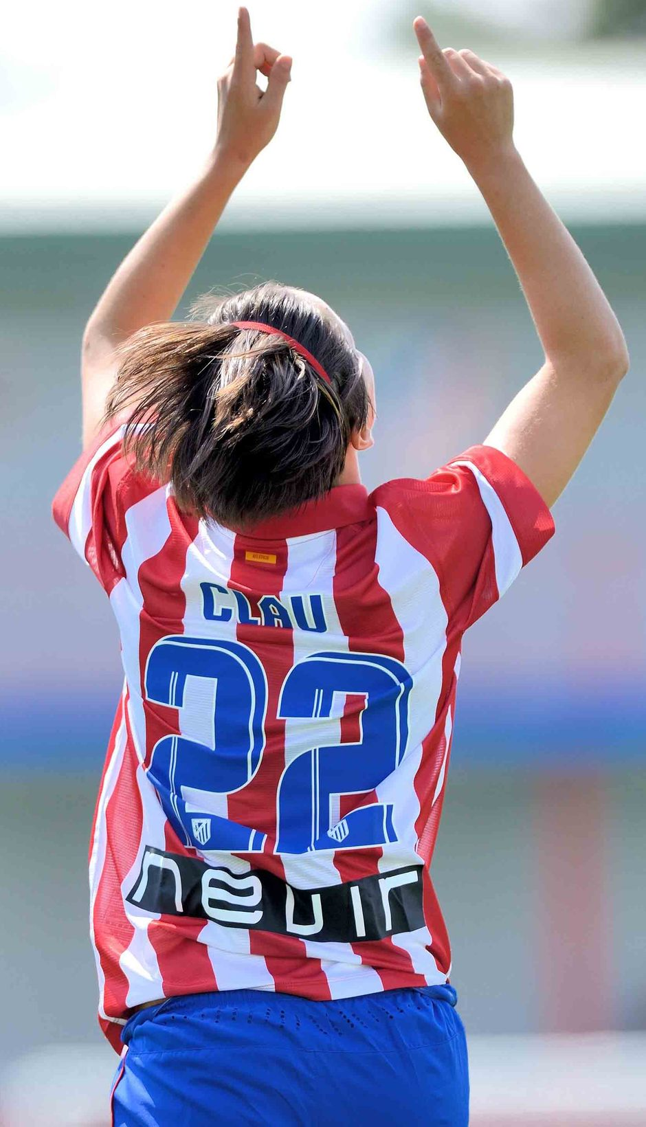 Temporada 2013-2014. Dedicatoria especial de Claudia Zornoza