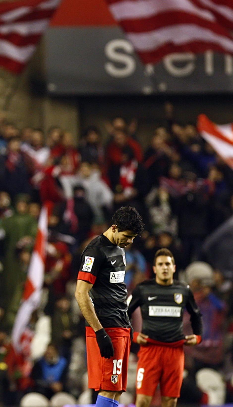 Diego Costa, Adrián y Koke decepción en San Mamés