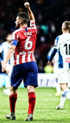 Temporada 19/20   Atlético - Espanyol   La otra mirada   KOke