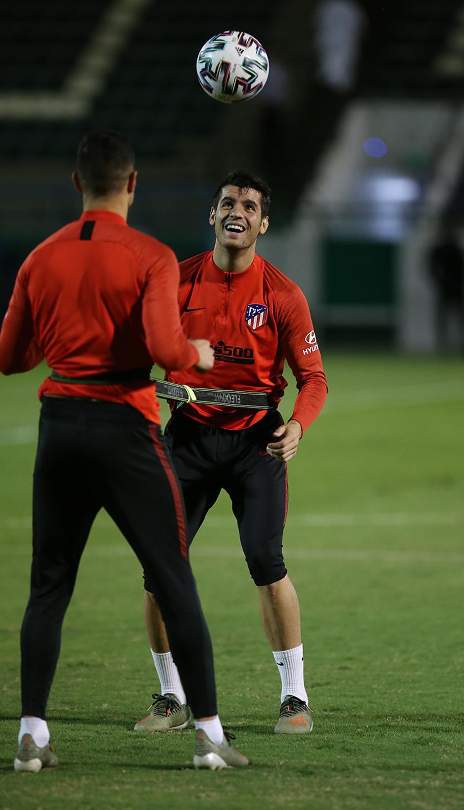 Temporada 19/20 | Entrenamiento  | Morata