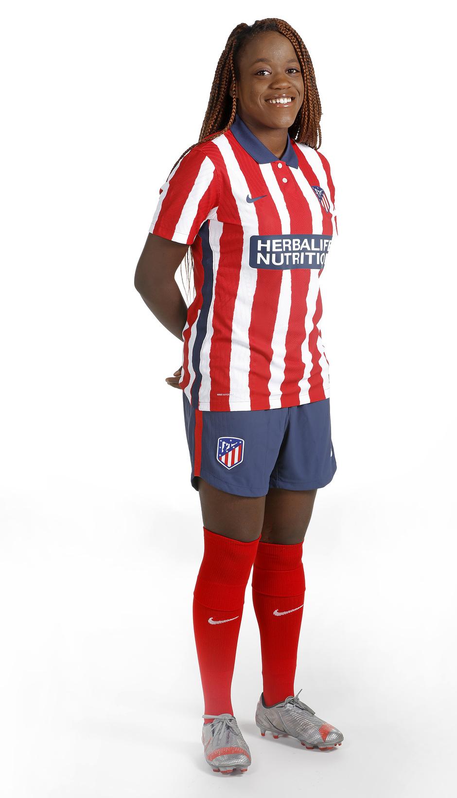 Temp. 20-21 | Shooting Atlético de Madrid Femenino | Grace Kazadi