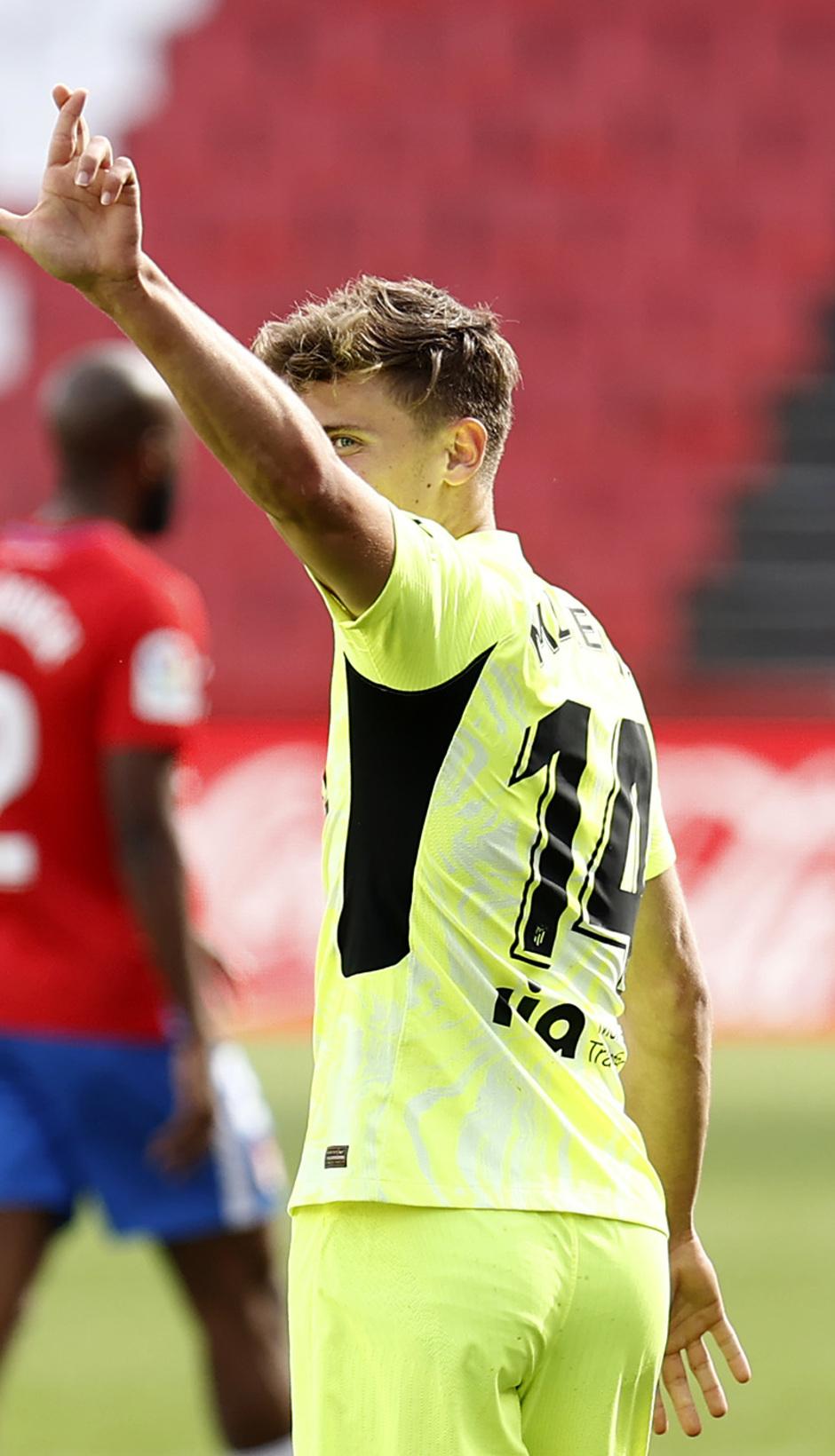 Temp. 20-21 | Granada - Atleti | Llorente celebración 2