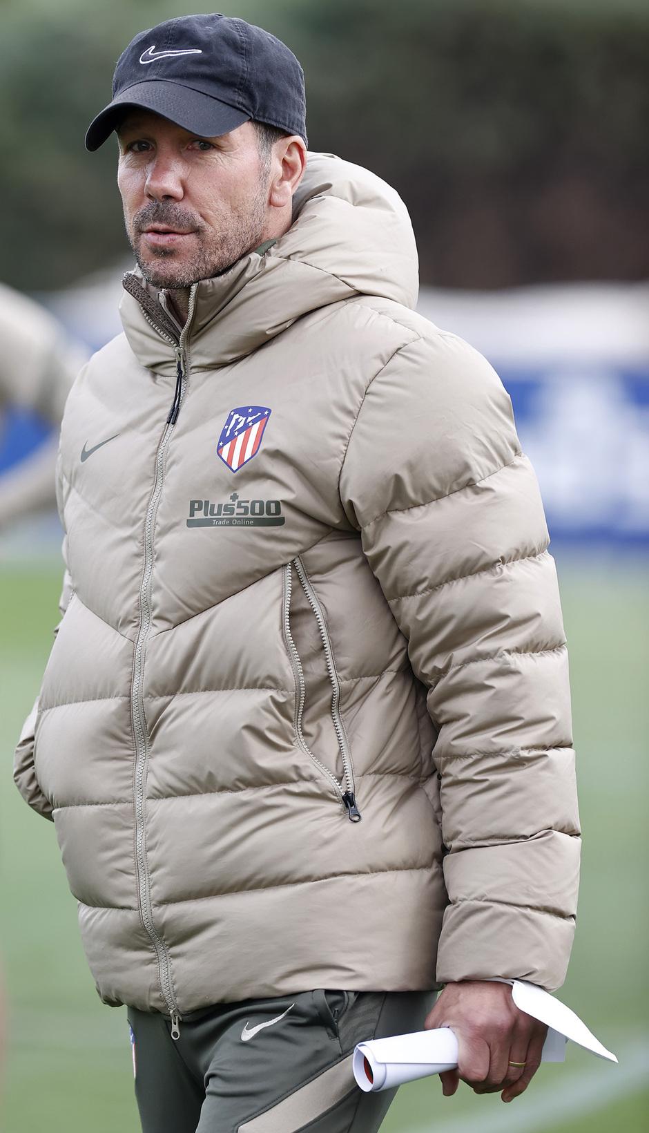 Temp. 20-21 | Entrenamiento Atlético de Madrid | Simeone