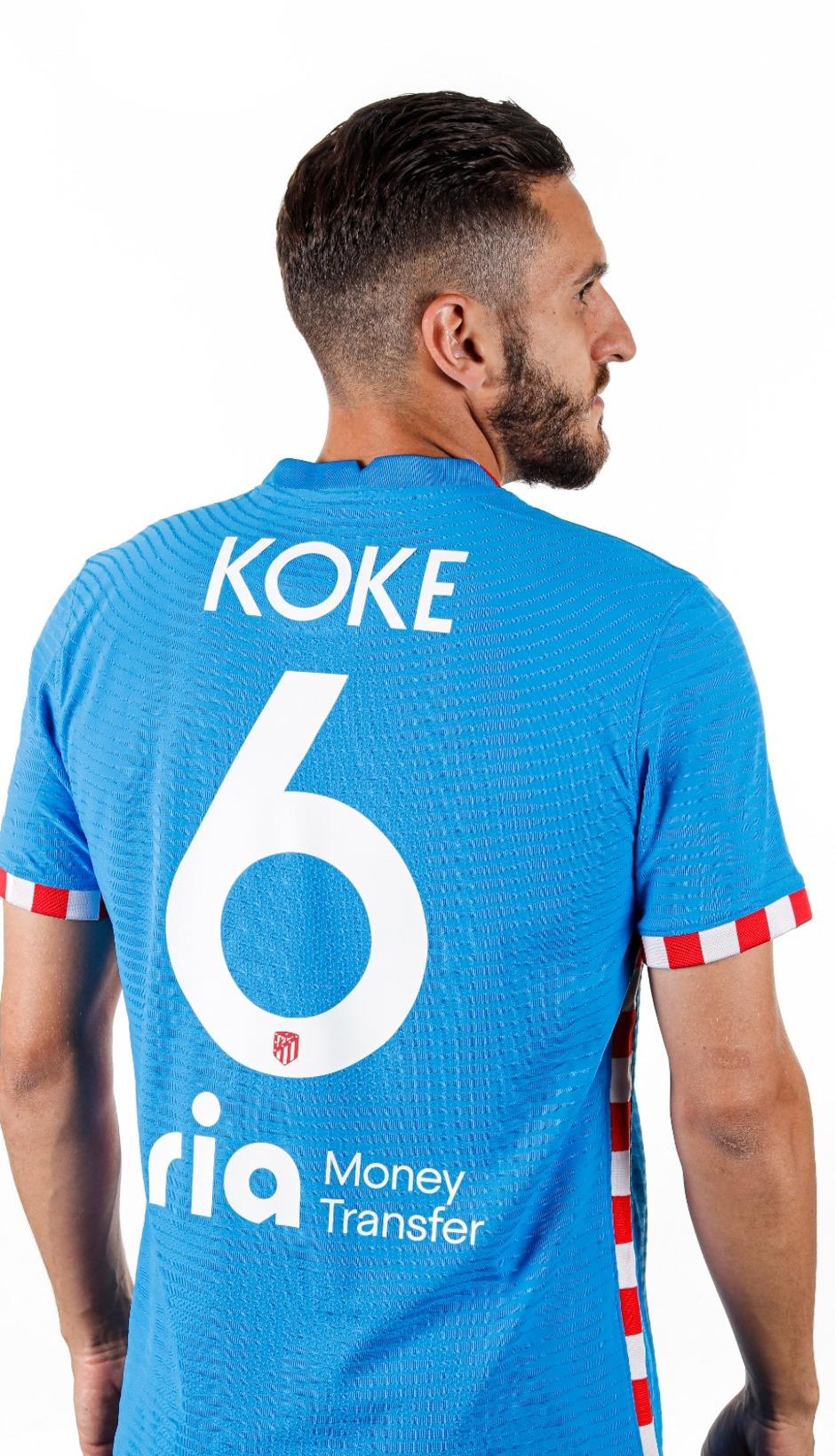 Koke tercera equipación
