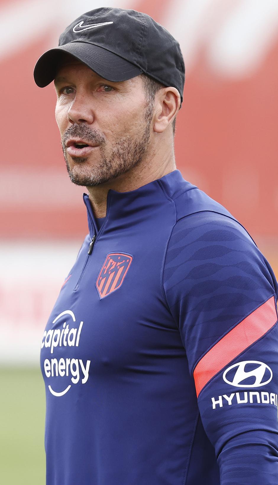 Temp. 21/22 | Entrenamiento Atlético de Madrid | Simeone