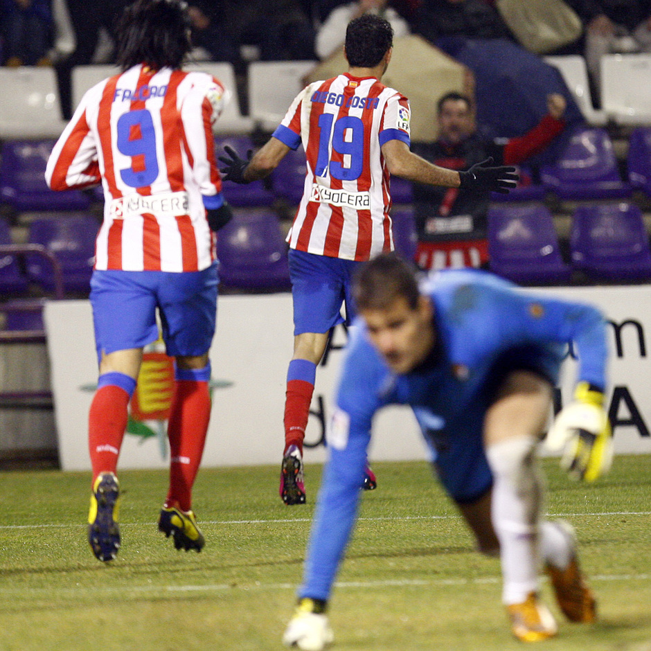 Temporada 2012-13. Diego Costa anotó contra sus ex en Zorrilla.