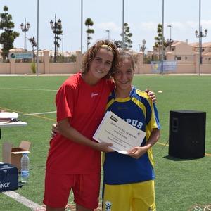 Temporada 2012-2013. Éxito rotundo del I Campus de Priscila Borja en Murcia