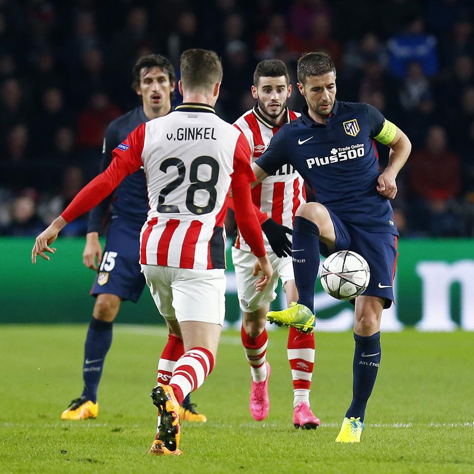 Temp. 2015-2016 | PSV - Atlético de Madrid | Gabi