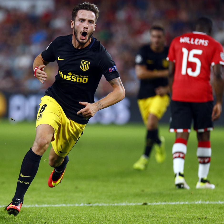 Temp. 16/17 | PSV - Atlético de Madrid | Saúl