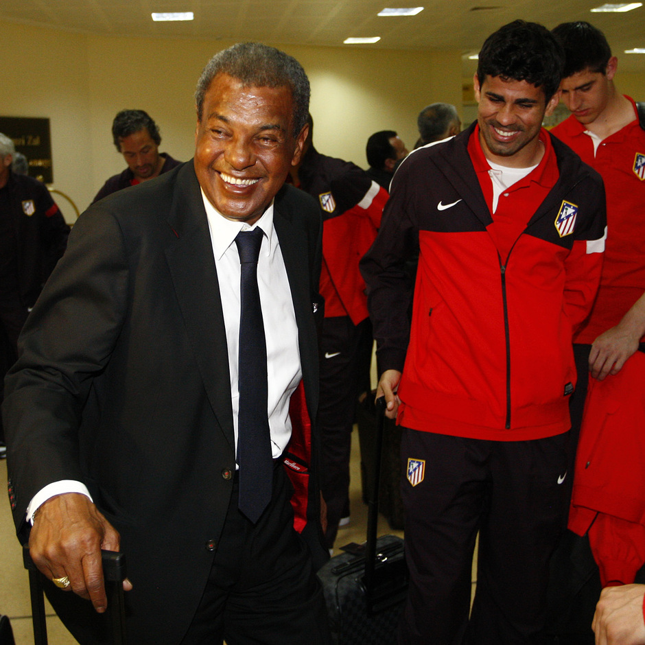 Luiz Pereira acompaña al equipo en esta visita a Azerbaijan