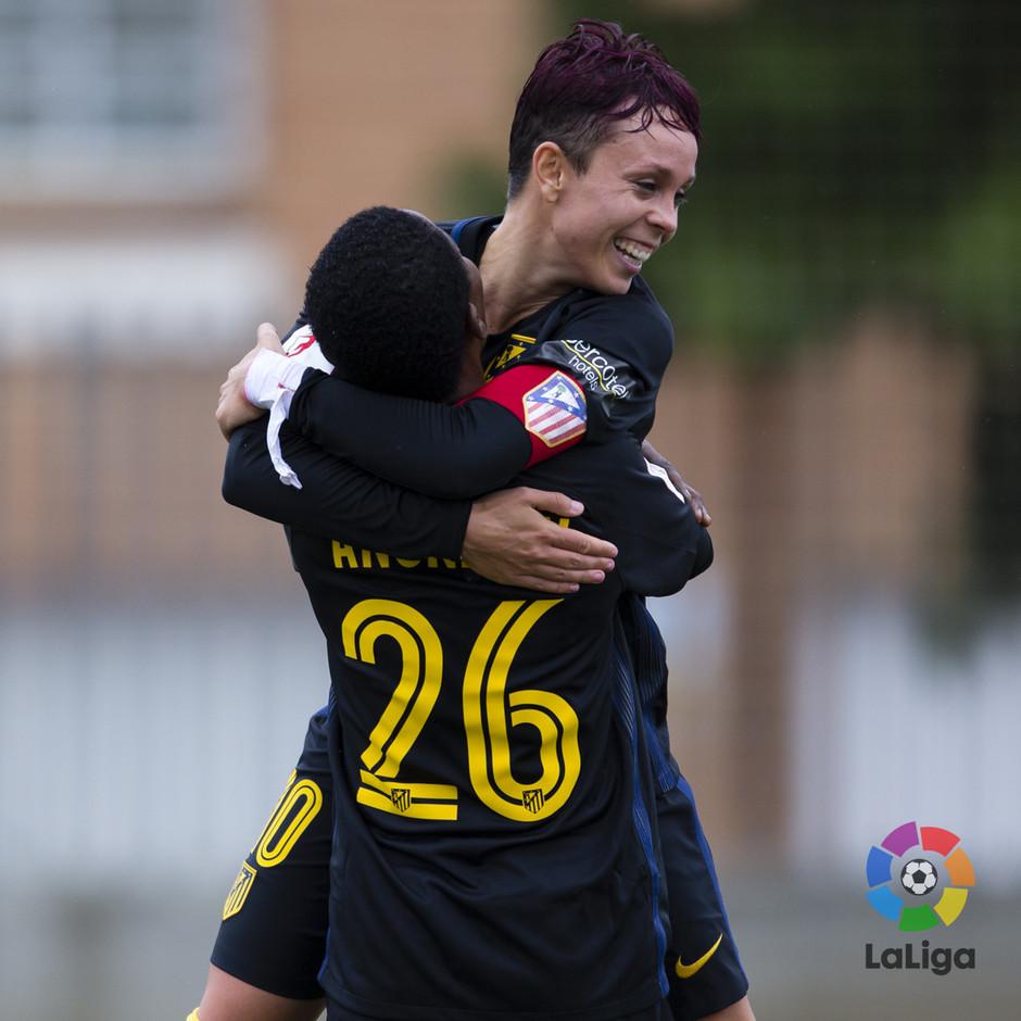 Temp. 16/17 | Santa Teresa - Atlético de Madrid Femenino | Añonman y Amanda