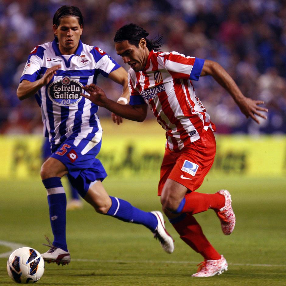 Temporada 12/13. Deportivo de La Coruña vs. Atlético de Madrid 13