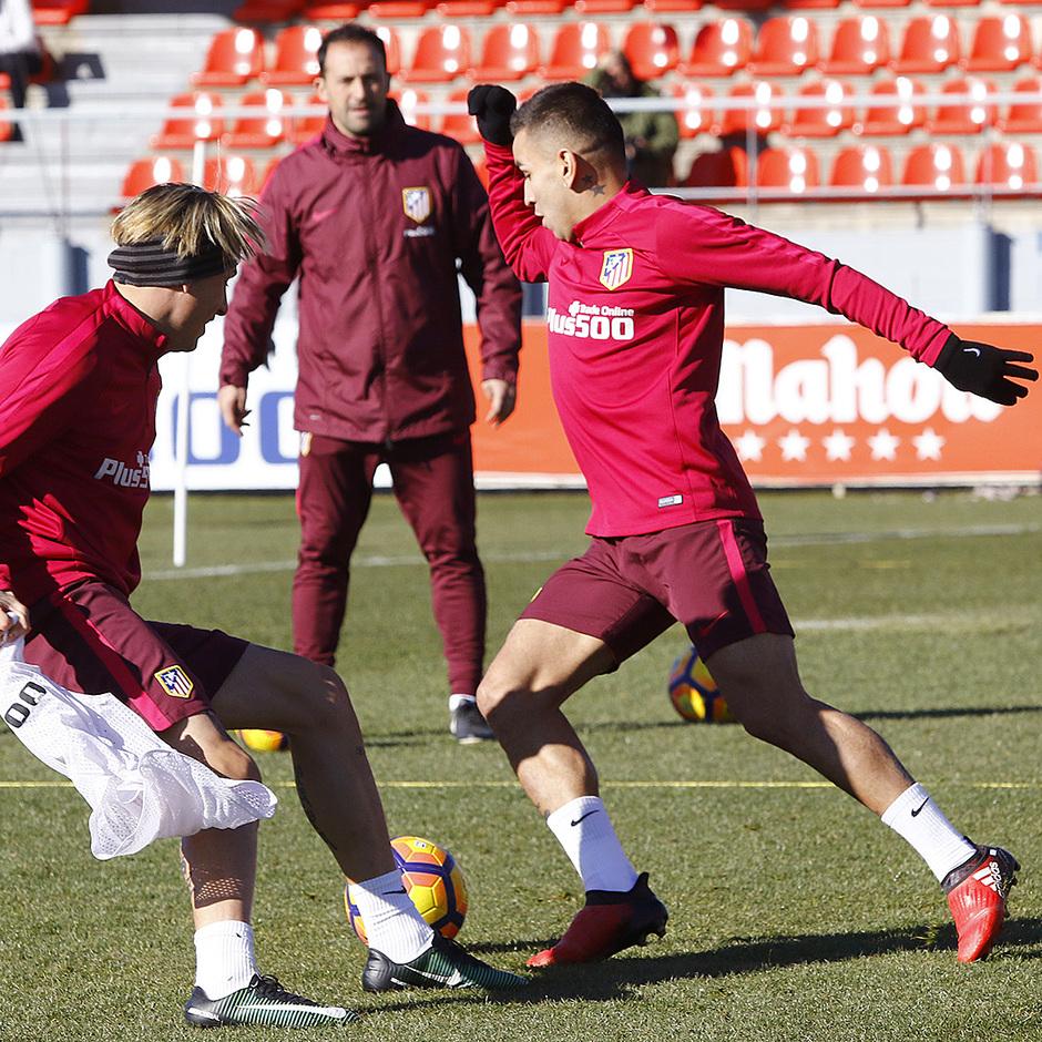 Entrenamiento 06-01-2017 en la Ciudad Deportiva Wanda | Correa