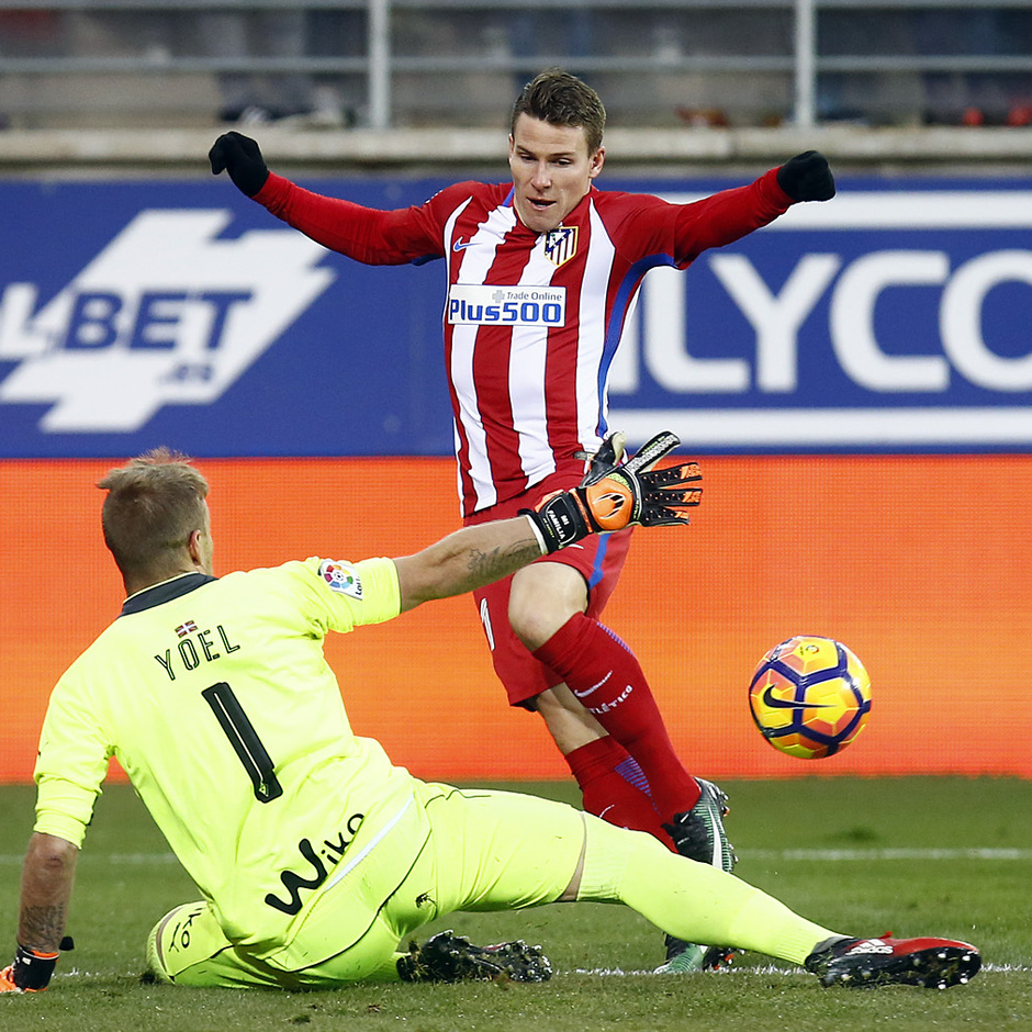 Temp. 16/17 | Eibar - Atlético de Madrid | Gameiro