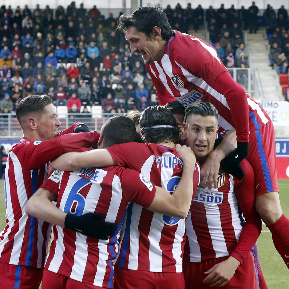 Temp. 16/17 | Eibar - Atlético de Madrid | Celebración