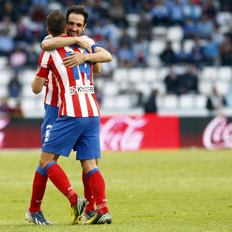 Temporada 12/13. RC Celta de Vigo vs. Atlético de Madrid 7