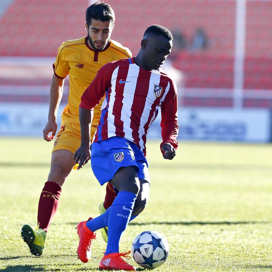 Temp. 16/17 | Youth League | Atlético de Madrid - Sevilla | Salomón Obama