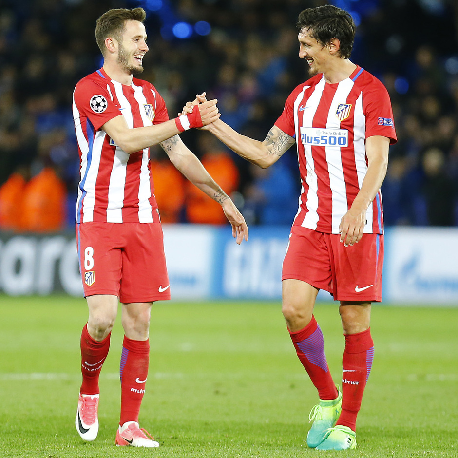 Temp. 16/17 | Leicester - Atlético de Madrid | Saúl y Savic