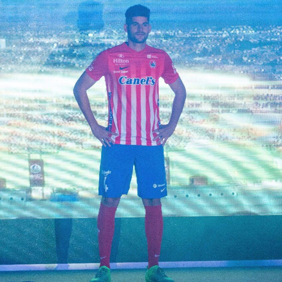 Presentación Atlético de San Luis 2017-2018. Emilio Mac Eachen